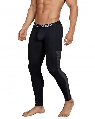 clever Мужские кальсоны черные Clever Astist Long Pant 031811