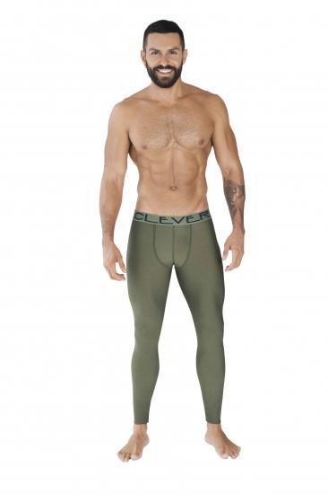 clever Мужские кальсоны зеленые Clever IDEAL LONG JOHNS 037210