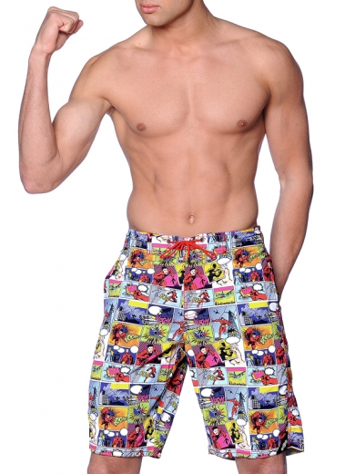 hom Пляжные шорты Super Ego 07768-M9