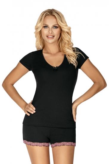 donna Пижама Clara 1/2 pyjamas Black