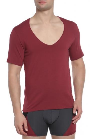 Футболка Doreanse Мужская футболка бордовая Doreanse 2820