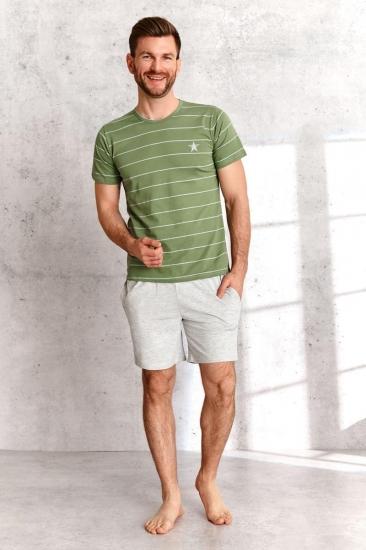 taro 2513 SS21 BRUNO Пижама мужская с шортами
