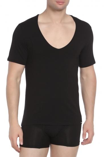 Футболка Doreanse Мужская футболка черная 2820 размер XXL Черный