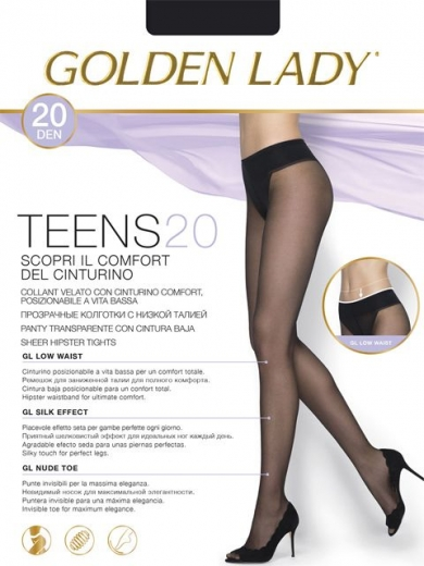 Golden Lady TEENS 20 VITA BASSA