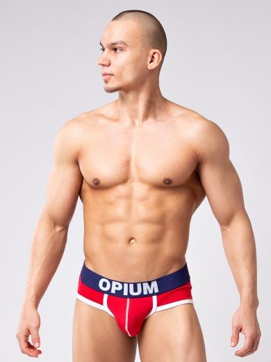 Трусы Opium Трусы мужские R-138 слип размер XXXL Красный