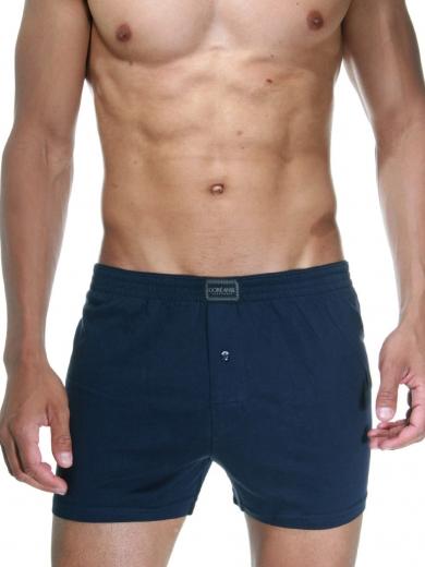 doreanse Мужские трусы боксеры plus-size темно-синие 1511P
