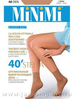 Minimi STELLA 40 (2 п.) носки