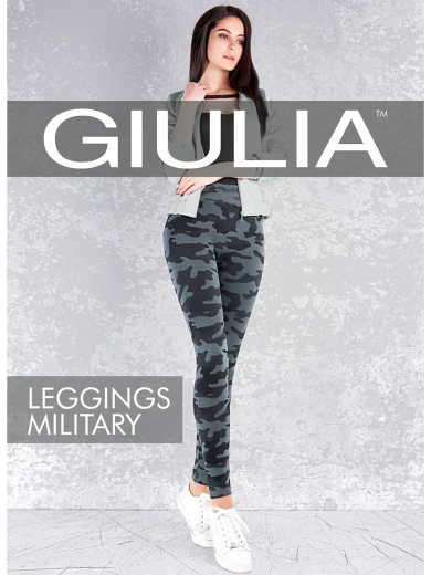 Giulia Леггинсы LEGGINGS MILITARY 01
