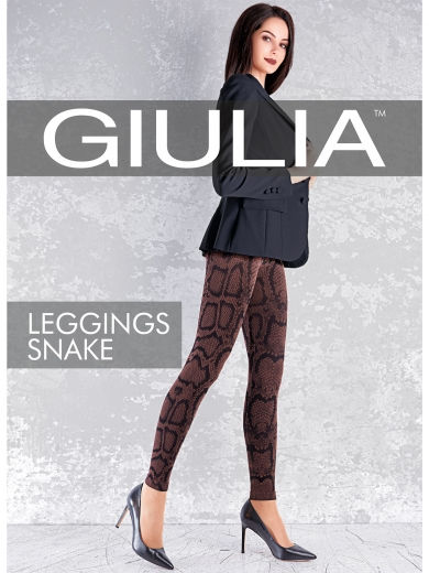 Giulia Леггинсы LEGGINGS SNAKE 01