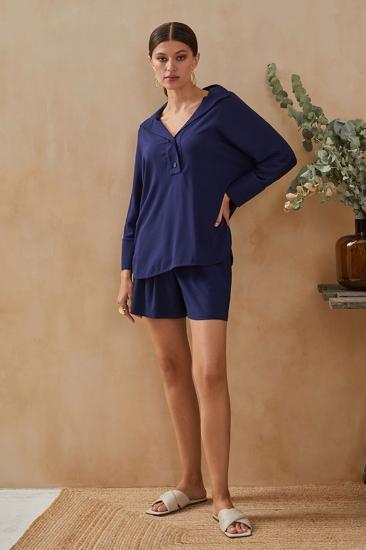 laete Рубашка 61744-1 Темно-синий