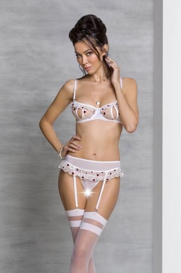 passion lingerie Lovelia set White комплект