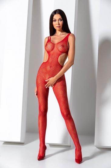 passion erotic line BS 085 Red боди-комбинезон