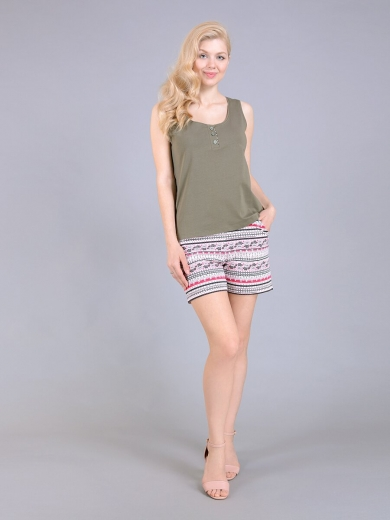Maki 23006-4 Комплект майка + шорты
