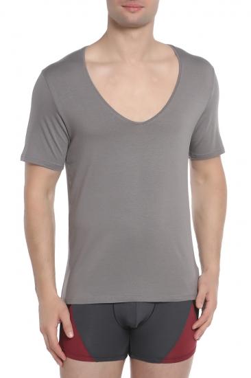 Футболка Doreanse Мужская футболка серая 2820