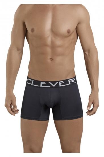 Трусы Clever Мужские трусы боксеры черные Clever Sophisticated Boxer 238711