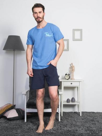 vienetta №811324 0000 Комплект мужской -Gazzaz с шортами
