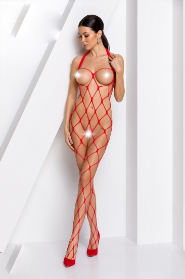 passion erotic line BS 091 Red боди-комбинезон