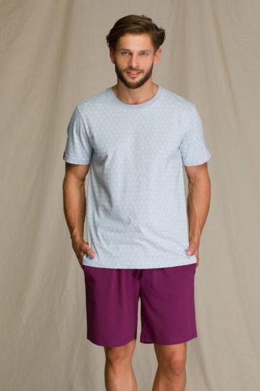 key MNS 810 A21 Пижама мужская с шортами