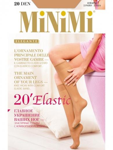 Minimi ELASTIC 20 lycra (2 п.) гольфы