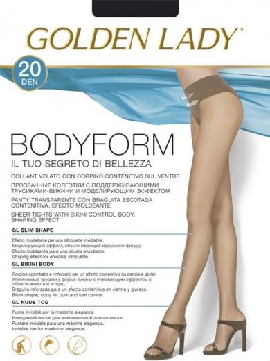 Golden Lady BODY FORM 20 колготки плотностью 20 ден
