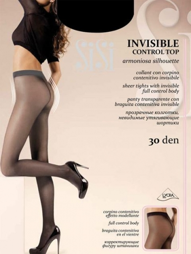 SiSi INVISIBLE CONTROL TOP 30