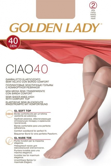 Golden Lady CIAO 40 гольфы (2 п.)