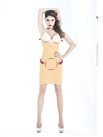 Платье Andra Shape SOTTOVESTE MODELLANTE PUSH UP CON BODY 11