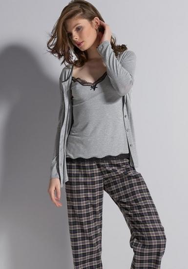 rebecca & bross. Пижама женская из трех предметов R&B_3800