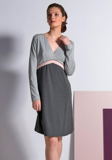 rebecca & bross. Элегантное домашнее платье R&B_3828