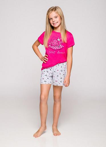 taro 2200/2201 19 HANIA Пижама для девочек с шортами