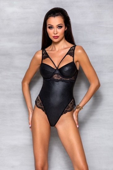 passion lingerie Loona body Black