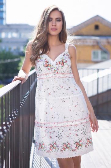 """mia mia Мираж №16311 Платье """"Daisy"""" размер M Принт_417"""