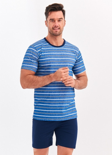taro 072 S20 MAX Пижама мужская с шортами