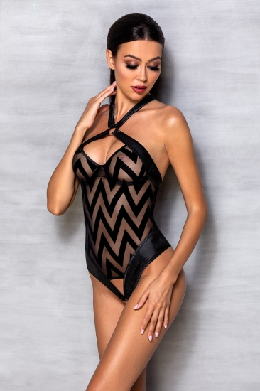 passion lingerie Hima body Black боди