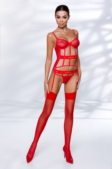 passion lingerie Kyouka corset Red корсет