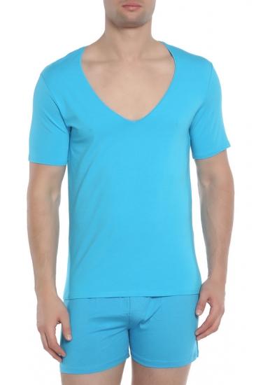 Футболка Doreanse Мужская футболка бирюзовая 2820