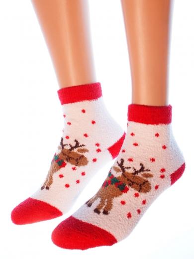 """HOBBY 2212 носки махровые-пенка """"Новогодние"""""""
