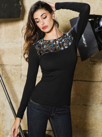 JADEA 4878 maglia блузка