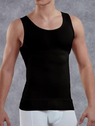 doreanse Мужская майка-корсет plus-size 5950P черная