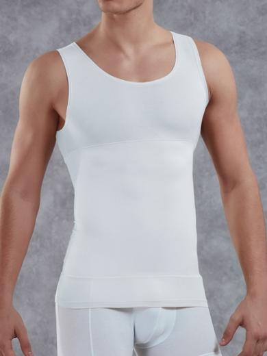 Doreanse Мужская майка- корсет Doreanse 5950 белая размер L Белый