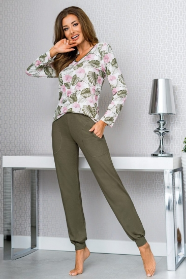 donna MILA KHAKI Пижама женская со штанами