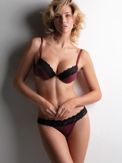 Cotonella Комплект женский бюстгальтер + трусы ad706