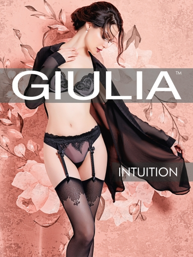 Giulia Чулки INTUITION 02 размер 1-2/XS-S nero