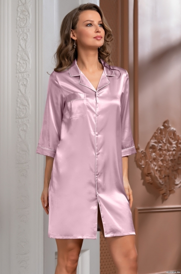 mia-mella Рубашка Julia 8737 пудра