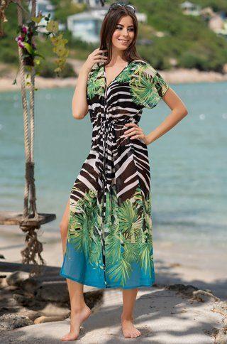 """mia amore Туника Mia-Amore 8792 """"Hawaii"""""""