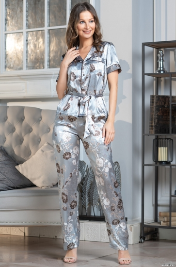 "mia amore Комплект с брюками 8994 ""Paris pions"""