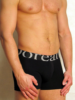 Трусы Doreanse Мужские трусы боксеры черные Doreanse 1777 размер XL Черный