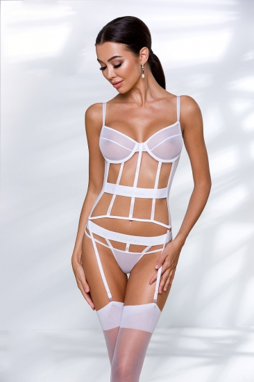 passion lingerie Kyouka corset White корсет