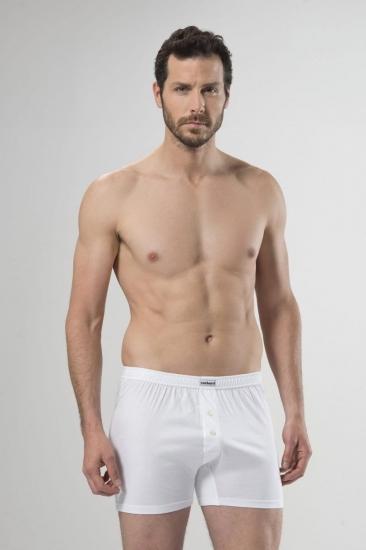 Cacharel Трусы мужские боксеры 1107 размер XXL (52-54) белый