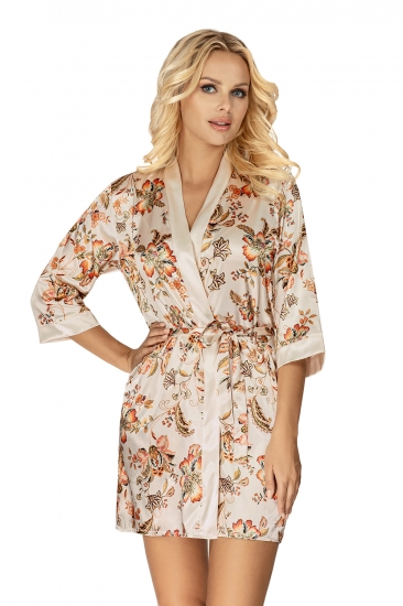 donna халат Paris dressing gown Llight Beige